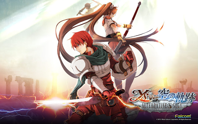 Ys vs. Sora no Kiseki: Alternative Saga ENG PSP GAME ISO