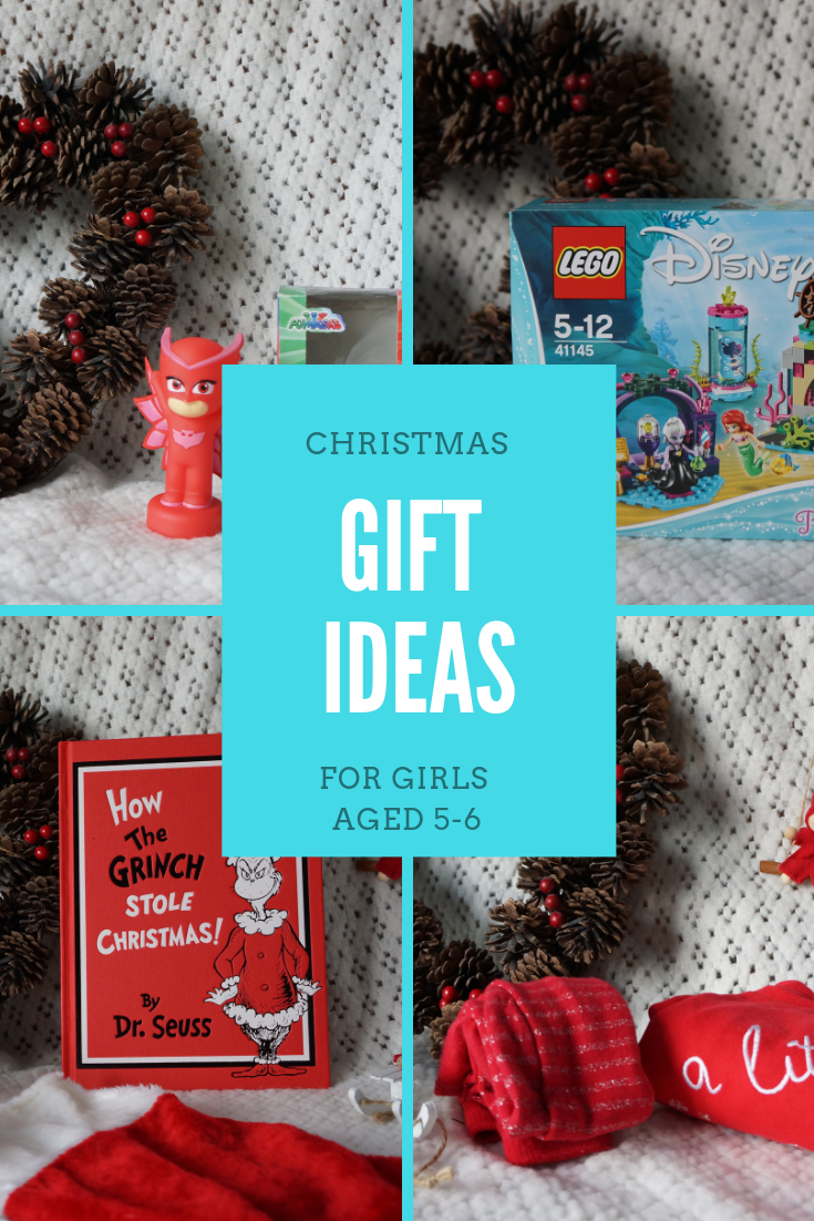 Great Christmas gift ideas for girls aged 5-6 - including electronics, books, toys and character merchandise.