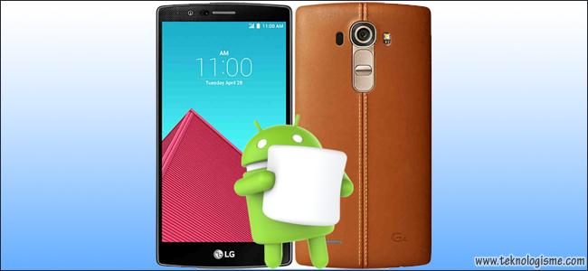 LG Telah Mengumumkan Update Android 6.0 (Marshmallow) Untuk LG G4