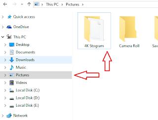 cara download foto dari ig lewat hp pc intagram