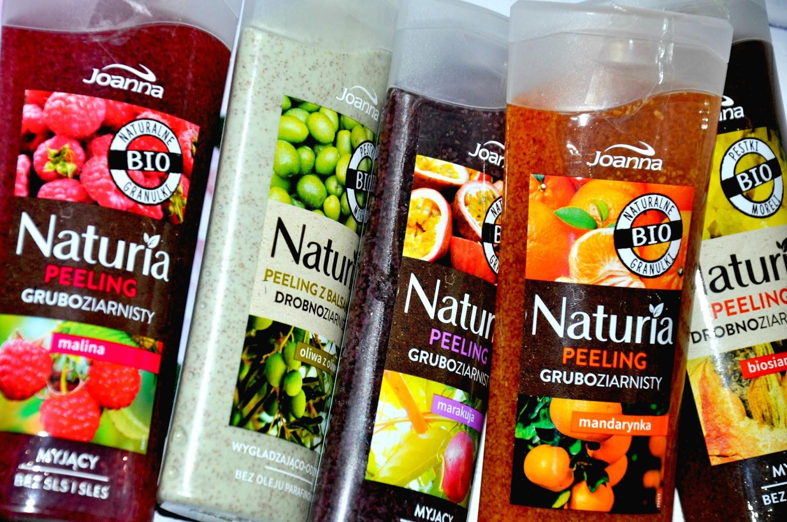 W skład linii wchodzą dwie serie które bazują na naturalnych składnikach, takich jak pestki moreli czy zmielone kolby kukurydzy. Zawarte w nich drobiny są ekologiczne i w pełni biodegradowalne. Seria składa się z pięciu produktów gruboziarnistych oraz pięciu drobnoziarnistych. W skład lini droobnoziarnistej wchodzi: - peeling z balsamem 'oliwa z oliwek' o działaniu wygładzająco - odżywczym, nie zawiera oleju parafinowego - peeling 'biosiarka' o właściwościach myjących, bez SLS i SLES Produkty gruboziarniste: - peeling 'mandarynka' o właściwościach myjących, bez SLS i SLES - peeling 'marakuja' o właściwościach myjących, bez SLS i SLES - peeling 'malina' o właściwościach myjących, bez SLS i SLES