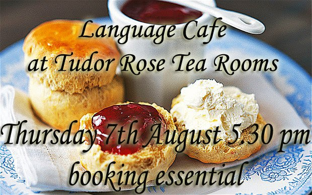 almond vocational link language cafe at the tudor rose tea rooms