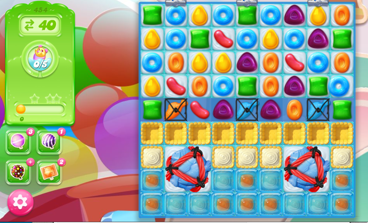 Candy Crush Jelly Saga 454