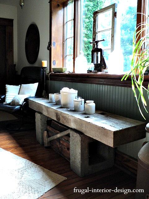 Fantastic The Frugal Tree Reclaimed Barn Beam Bench Ibusinesslaw Wood Chair Design Ideas Ibusinesslaworg