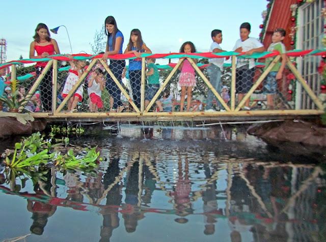 """Roncador: Lagoa da """"Casa do Papai Noel"""" é atração em 2016"""