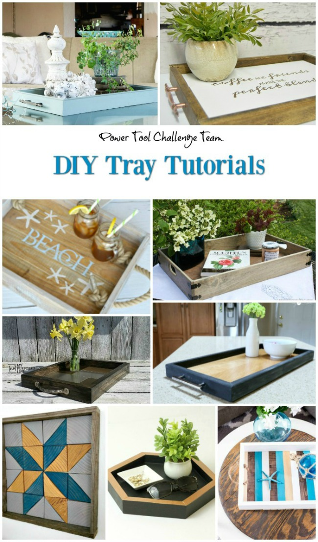 Power tool challenge tray challenge, MyLove2Create