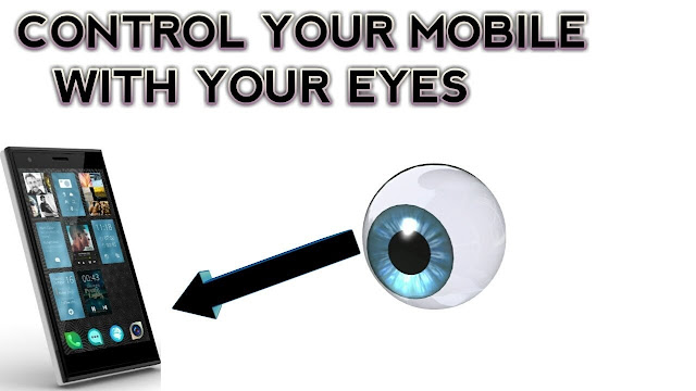 control phone with eyes
