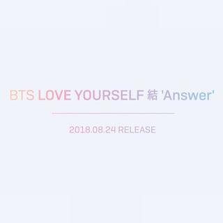 [SET] BTS - LOVE YOURSELF 結 Answer Albümü