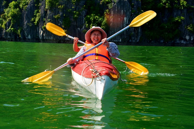 Great places to go kayaking in Vietnam 2