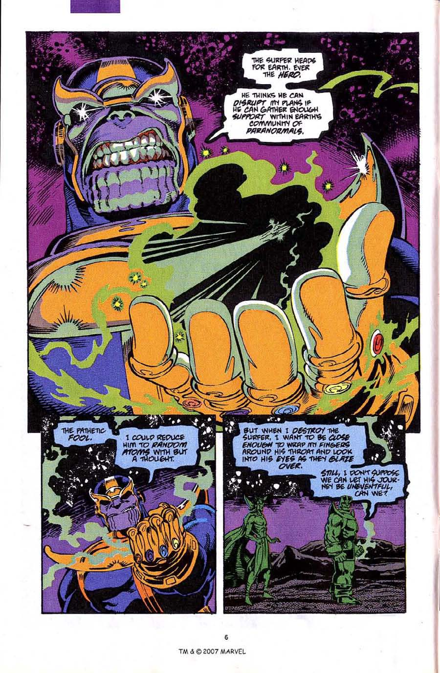 Read online Silver Surfer (1987) comic -  Issue #49 - 8