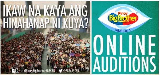 PBB Season 5 online audition