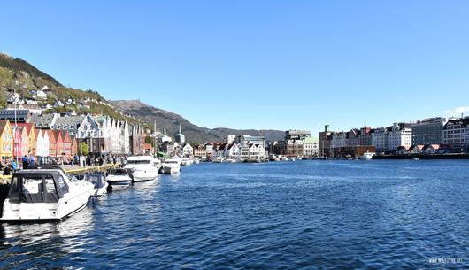 Der wunderschöne Hafen von Bergen