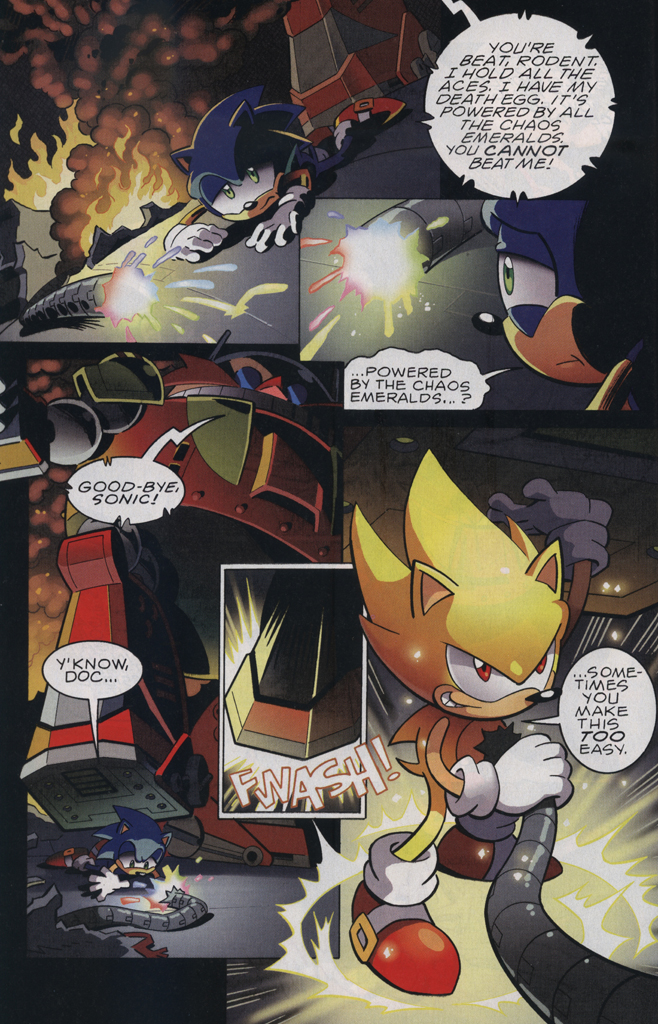 Read online Sonic The Hedgehog comic -  Issue #229 - 24