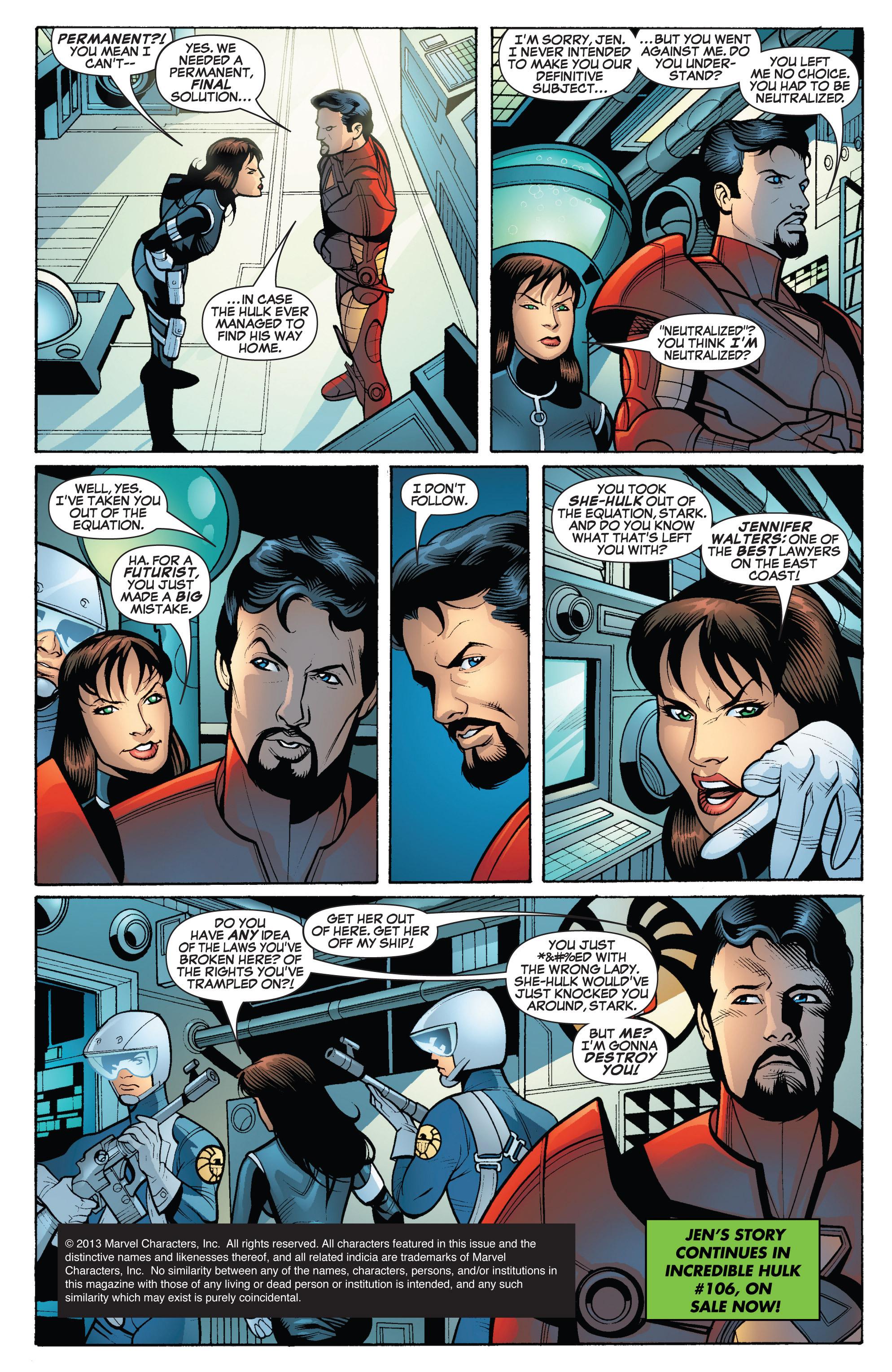 Read online She-Hulk (2005) comic -  Issue #18 - 22