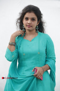 Tamil Actress Preethi Stills in Green Salwar Kameez at Kuzhalosai 2nd Anniversary Fund Raising Event  0020.jpg