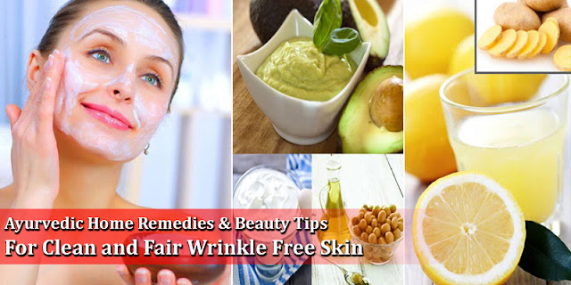 Cure For Clean And Glowing Skin - Beauty Tips For Clean And Fair Wrinkle Free Skin