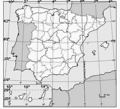 mapa portugal coordenadas Mapa De Portugal Coordenadas   thujamassages mapa portugal coordenadas