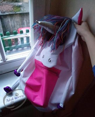 DIY plecak jak uszyć - instrukcje