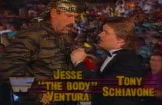 WWF / WWE Summerslam 1989 - Jesse 'The Body' Ventura and Tony Schiavone were our commentators for the pay per view