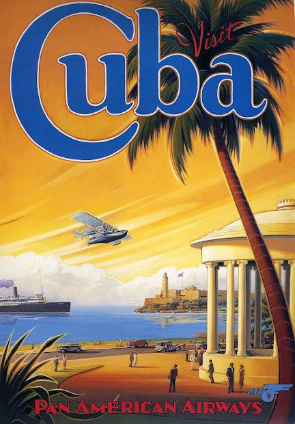 Transpress Nz Pan Poster - Visit Cuba