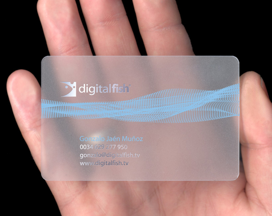Clear Business Cards - Business Card Tips