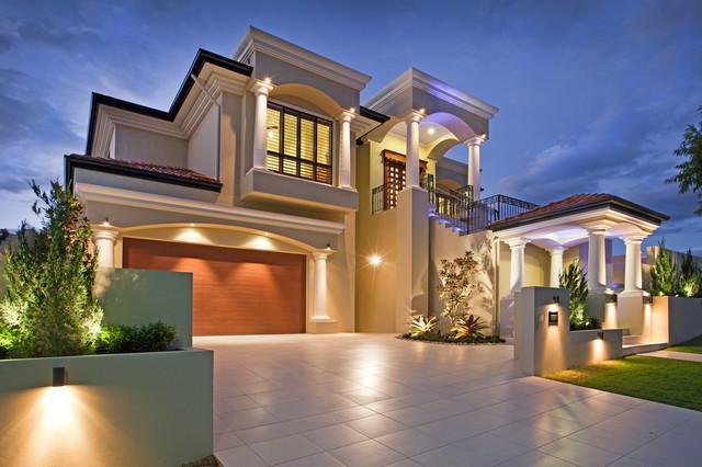 Myhouseplanshop Mediterranean House Design Build With James Hardi Columns