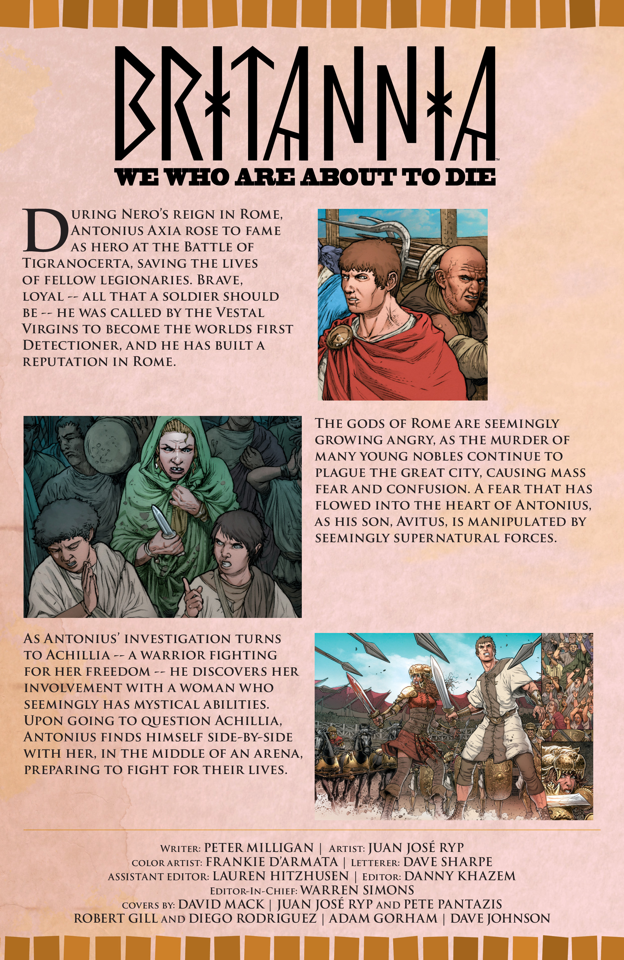 Read online Britannia: We Who Are About To Die comic -  Issue #3 - 5