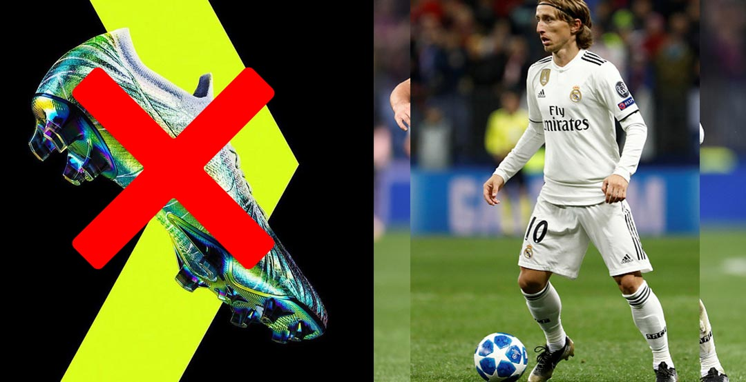 02fb58f9f Did He Not Like His Original Nike 'The Best' Boots? Luka Modric Debuts New,  Black / Gold Nike Mercurial 'The Best' Boots