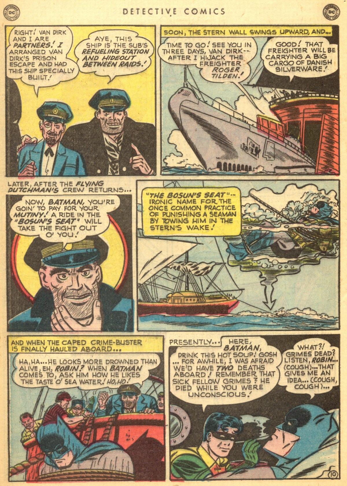 Read online Detective Comics (1937) comic -  Issue #170 - 12