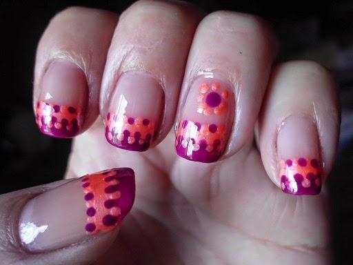 nail art puntitos