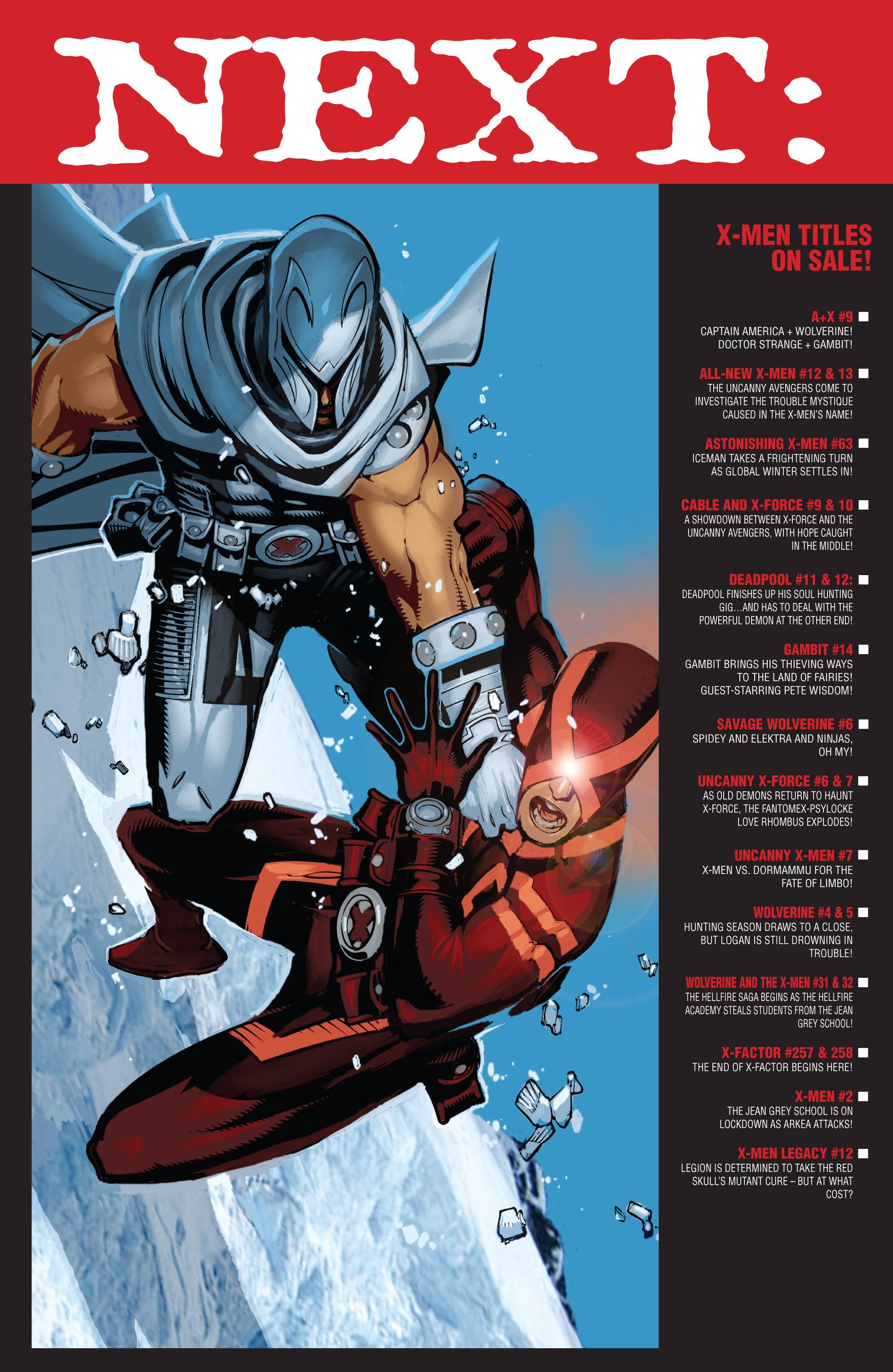 Read online Uncanny X-Men (2013) comic -  Issue #7 - 19