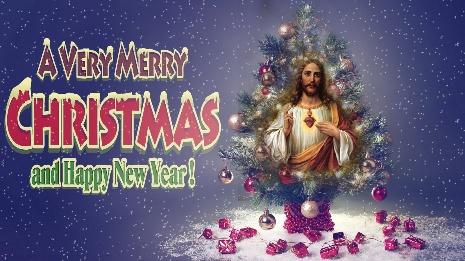 Free Download Beautiful Merry Christmas Jesus Christ HD ... | 1600 x 900 jpeg 326kB