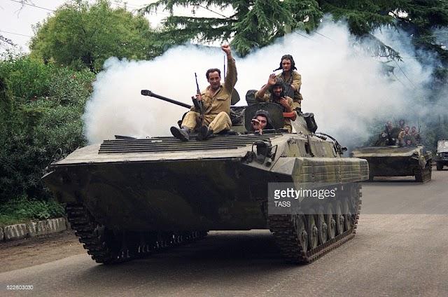 СНЫ О ВОЙНЕ: Война в Абхазии, август 92 - июнь 93