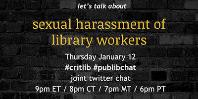 sexual harassment of library workers