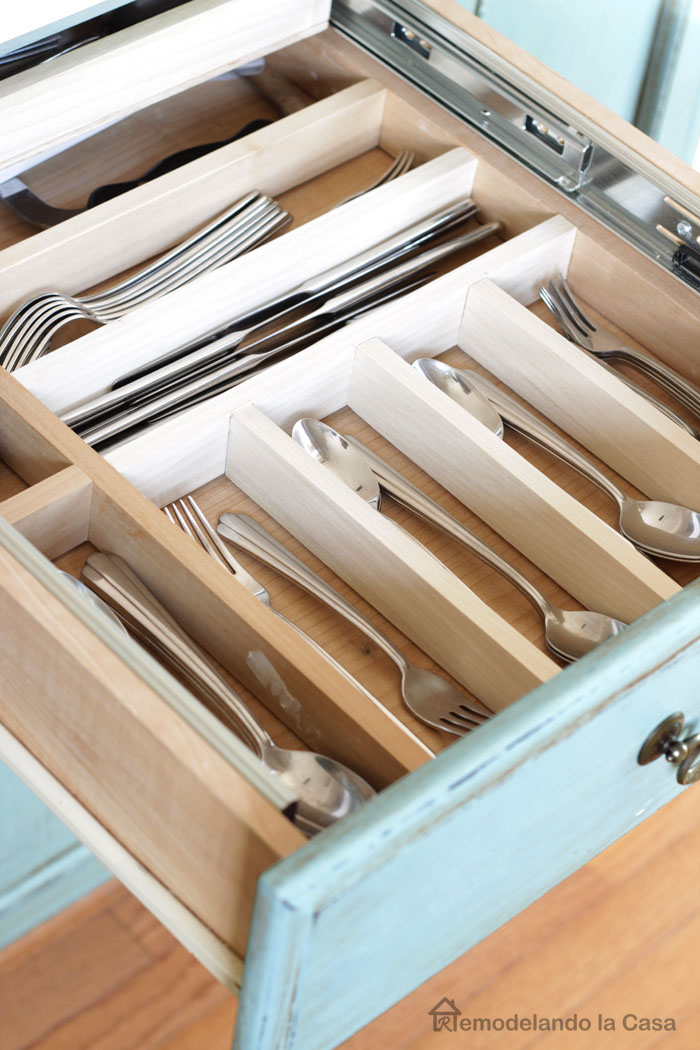 keep all those utensils organized.