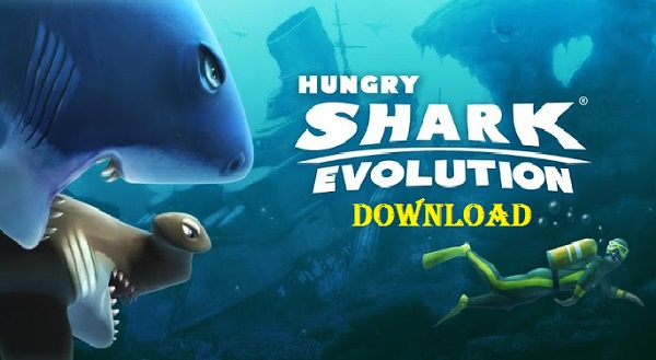 Download Hungry Shark Evolution Android Apk Mod Game