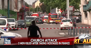 Video Captures ISIS Killers Using Nuns As Human Shields After Slaughtering French Priest