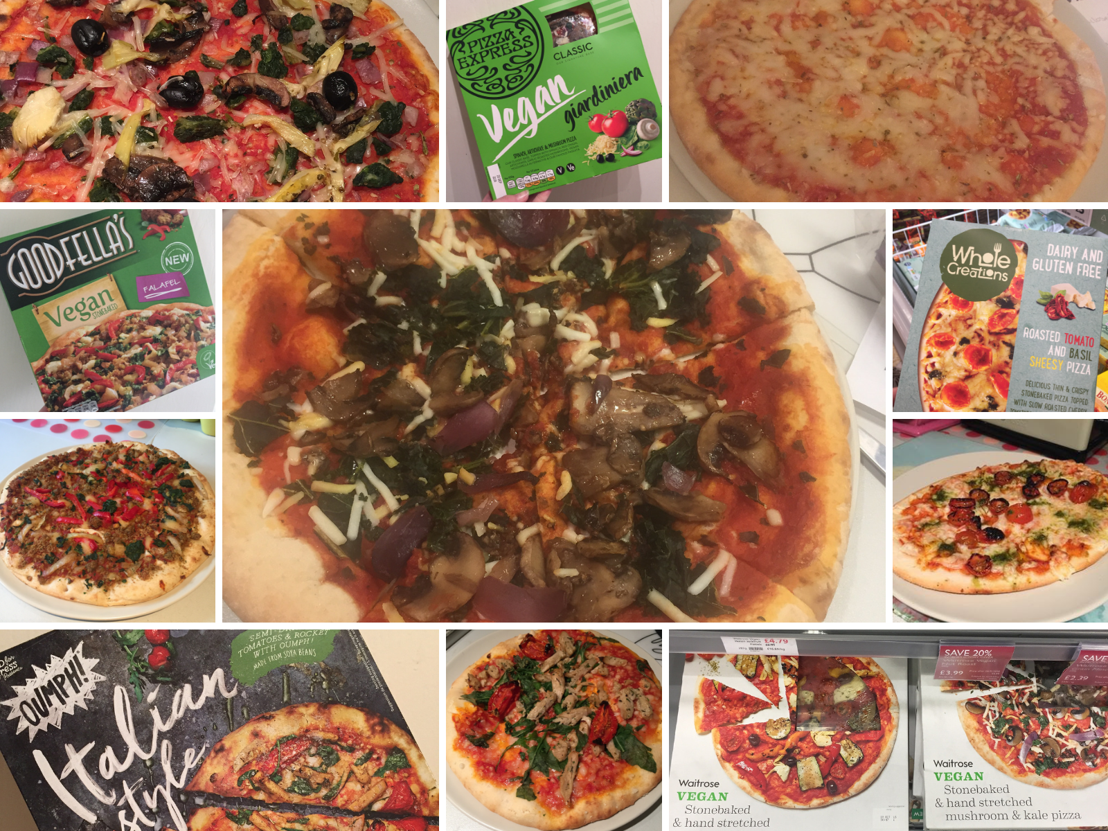 Chilled Frozen Vegan Pizza Available In Supermarkets