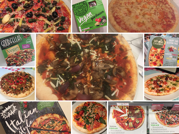 Chilled & Frozen Vegan Pizza available in Supermarkets