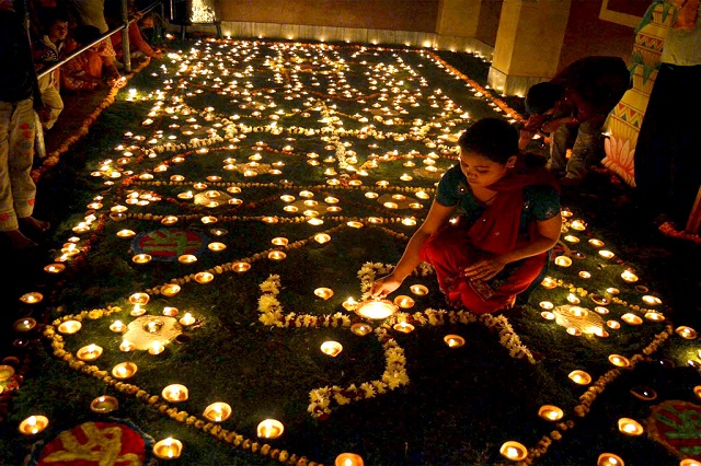 A 'Choti' Diwali before the main day in Bihar