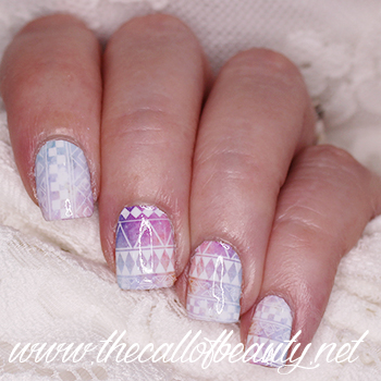 Ethnic Galaxy Nails