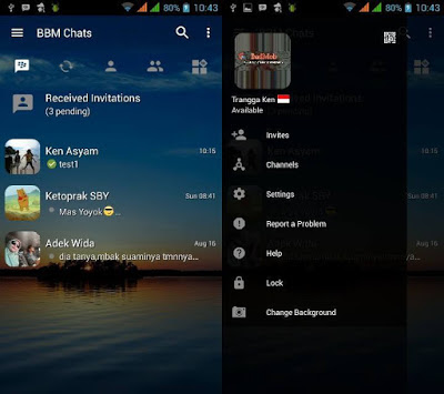 BBM Transparant Base 3.0.1.25 Apk Update [Change Background]