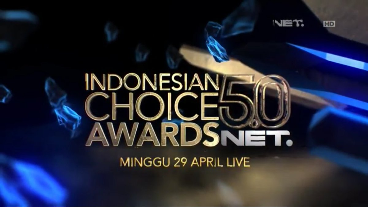 Indonesian Choice Awards 2018 | 5.0 NET. [image by @netmediatama]