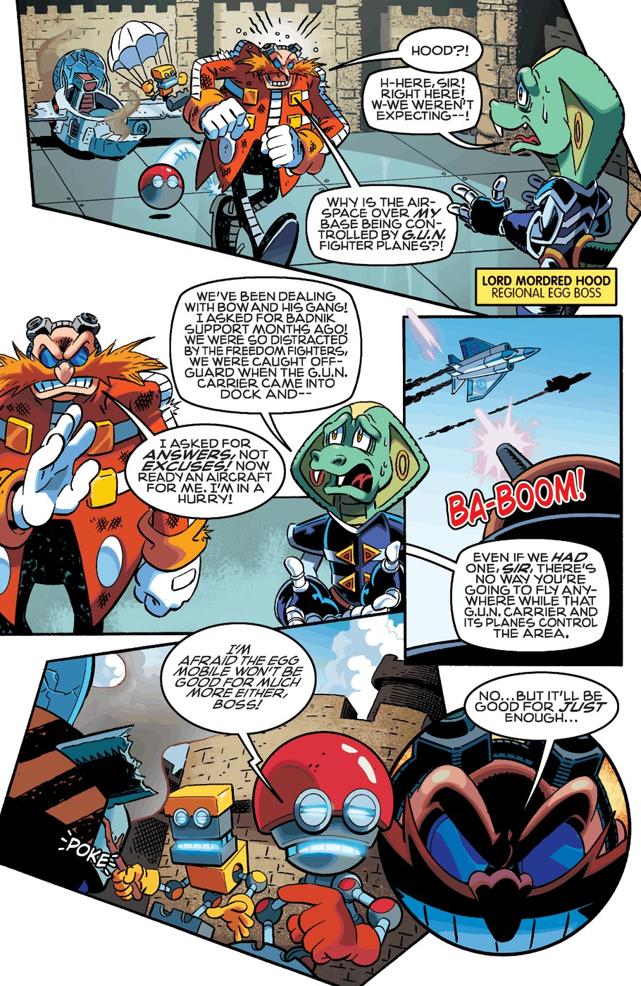 Read online Sonic The Hedgehog comic -  Issue #254 - 5