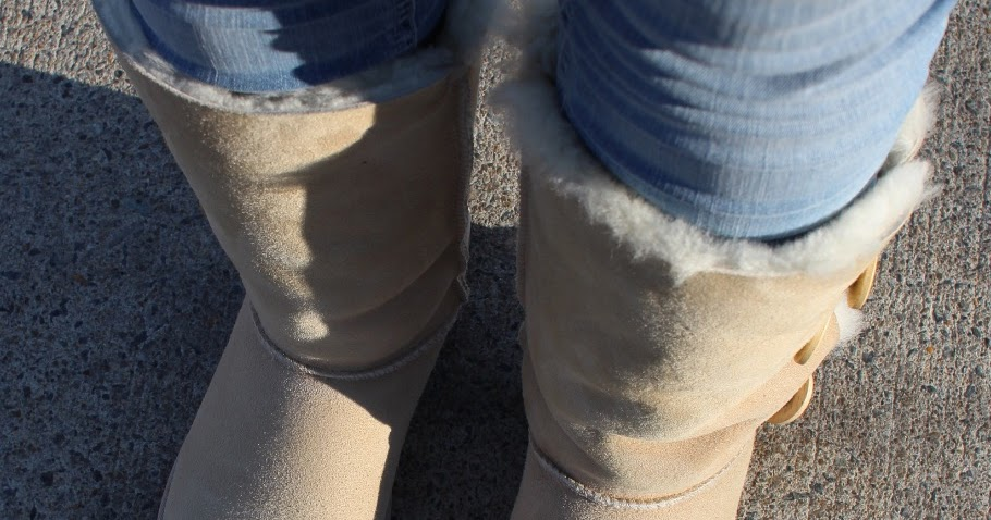 Lifestyle Ootd With Ugg Australia Bailey Button Triplet