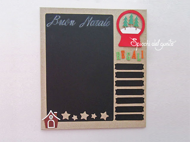 lavagna con Silhouette Starter Kit Chalkboard
