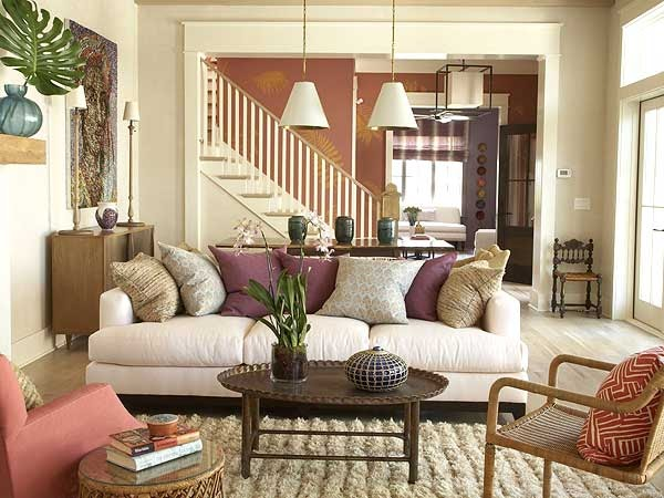 New House Decorating Ideas: New Home Interior Design: Ideas For The Living Room