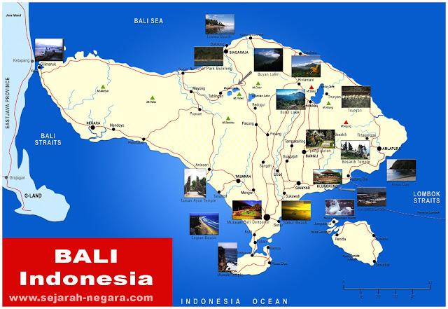 image: Bali Map High Resolution