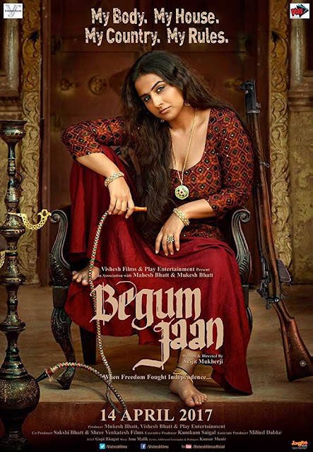 Poster Begum Jaan 2017 Full HD Movie Download 300MB