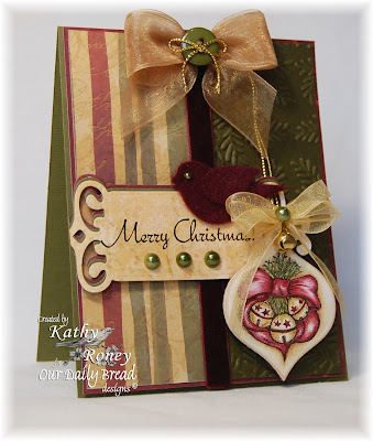 Our Daily Bread Designs, Holiday Ornaments, Holiday Tags, Kathy Roney